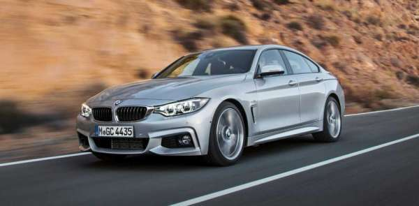 Yeni Model bmw 418İ gran coupe resmi