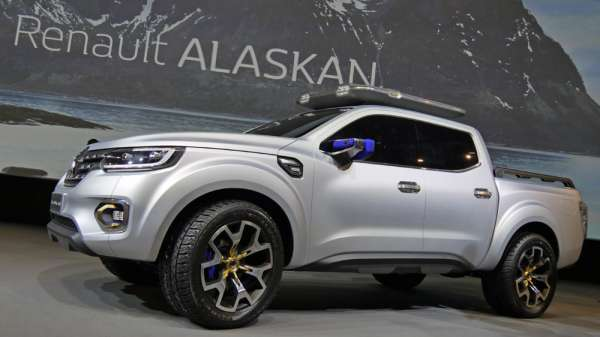 2016 model renault pick up alaskan modeli