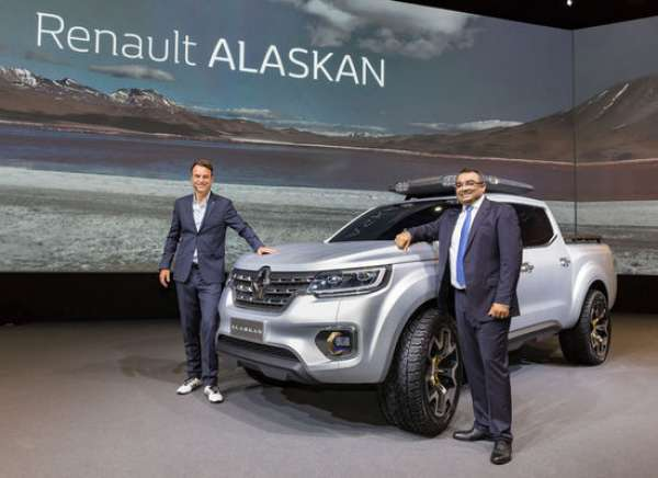 renault pick up alaskan