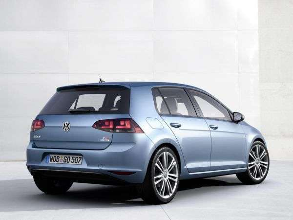 2016 model yeni volkswagen golf görselleri