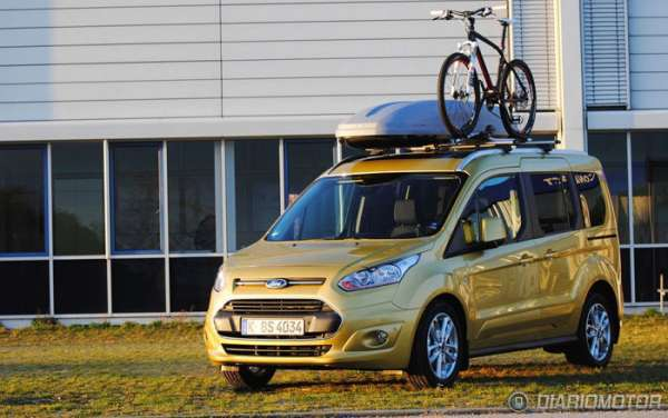 En Yeni Model 2015 ford tourneo connect modeli resmi
