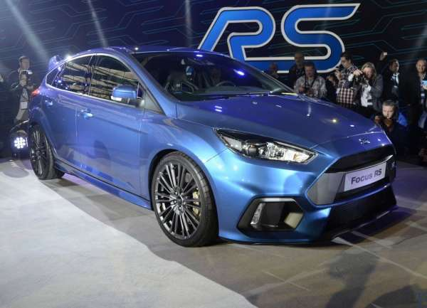 2016 model 2016 ford focus rs