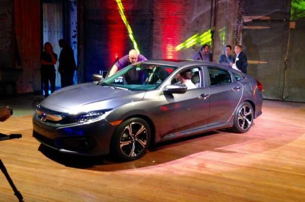 Yeni Model 2016 honda civic modeli
