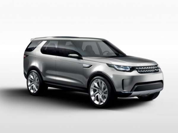 En Yeni Model land rover discovery 2015 görselleri