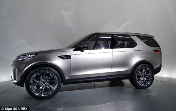 Yeni Model land rover discovery 2015 foto galeri