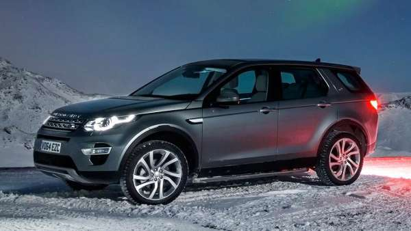 Yeni Model land rover discovery 2015 fotosu resmi