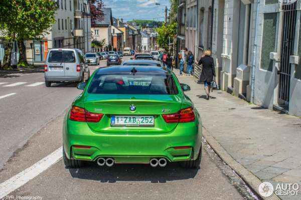2016 model bmw m4 java green modeli resmi