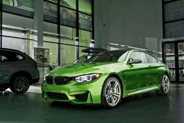 Son Tasarım bmw m4 java green modeli