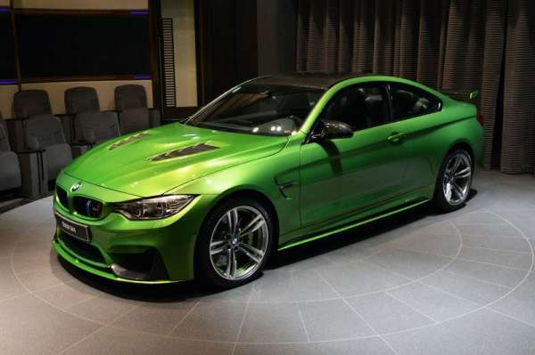 Yeni bmw m4 java green görselleri