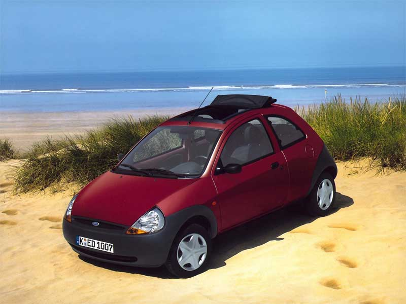 2000 Ford Ka picture, exterior.