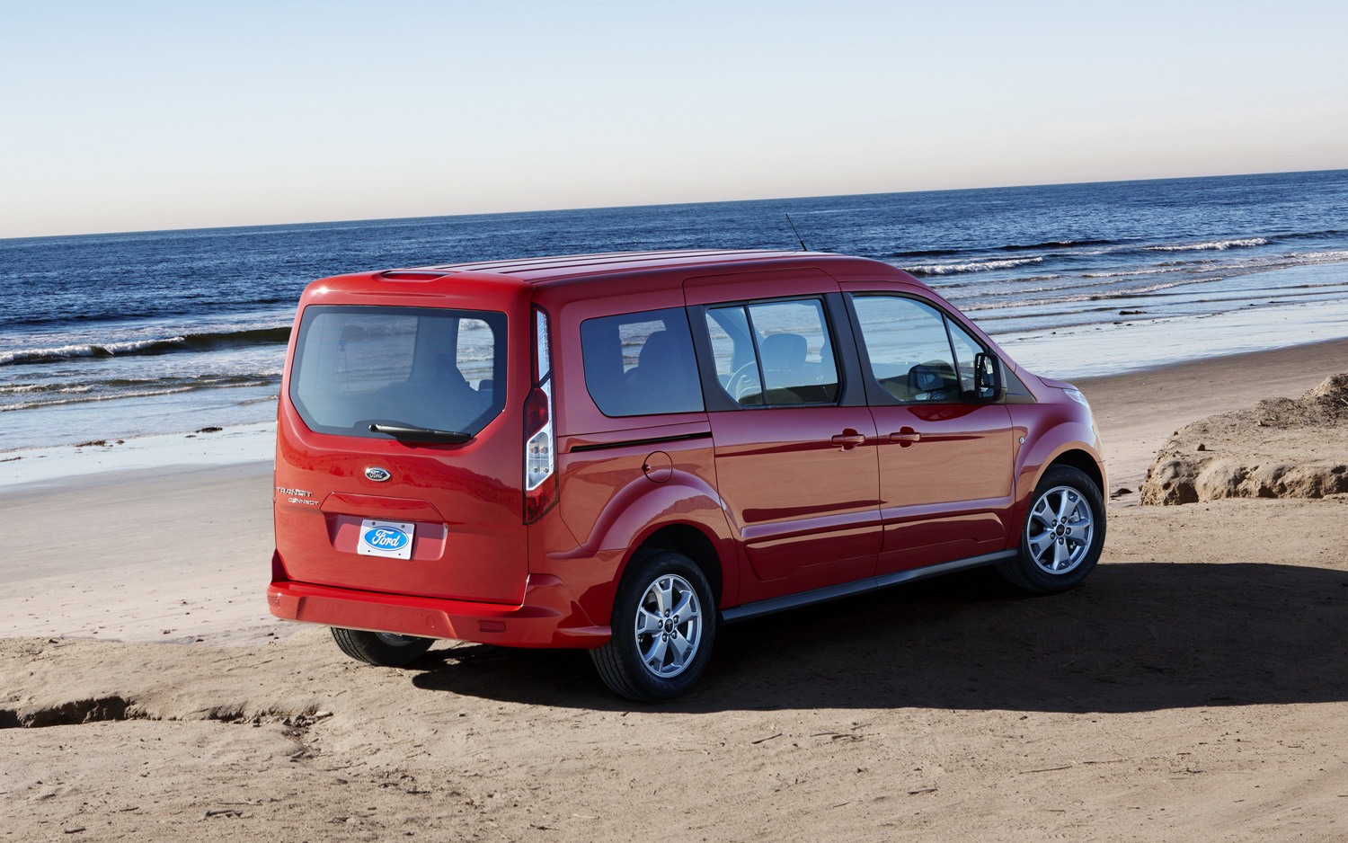 2014 Ford Transit Connect Right Rear Photo 7