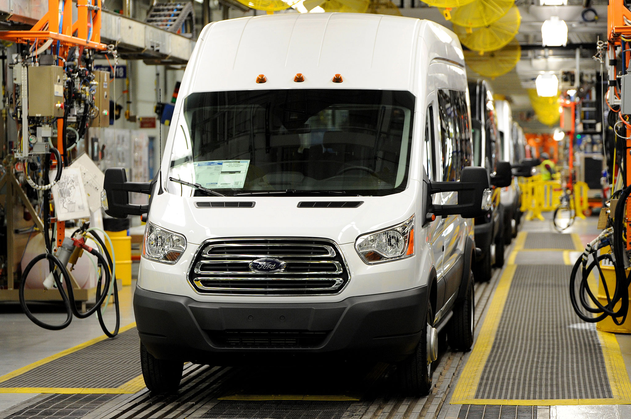 2015 Ford Transit Kansas City Assembly Plant Photo 11