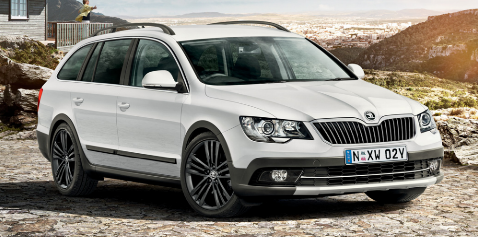 2015 Skoda Superb 4×4 Outdoor Limited Edition: Pricing for rugged