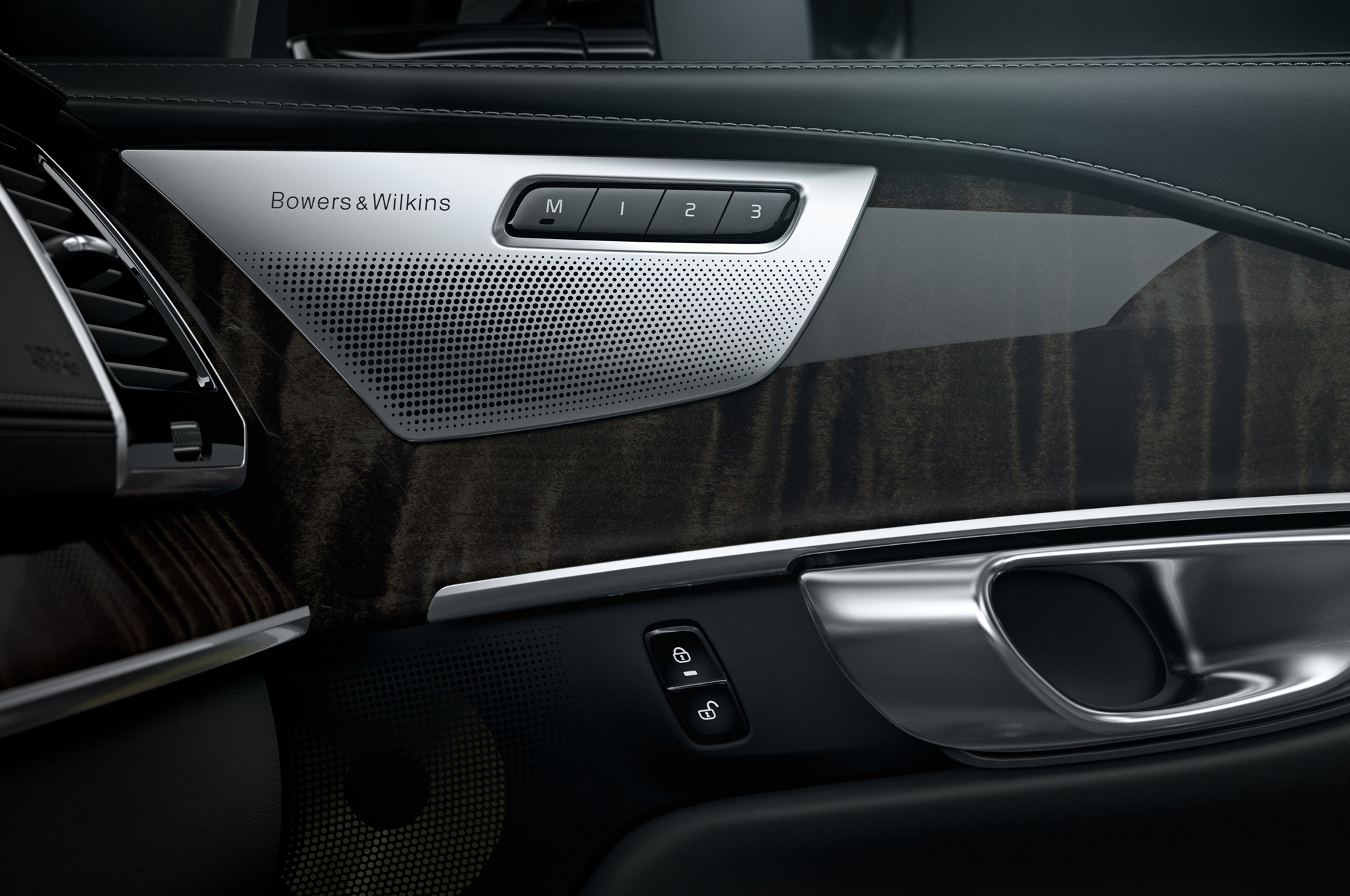 2015 Volvo Xc90 Bowers And Wilkins Speaker On Door Panel Photo 16