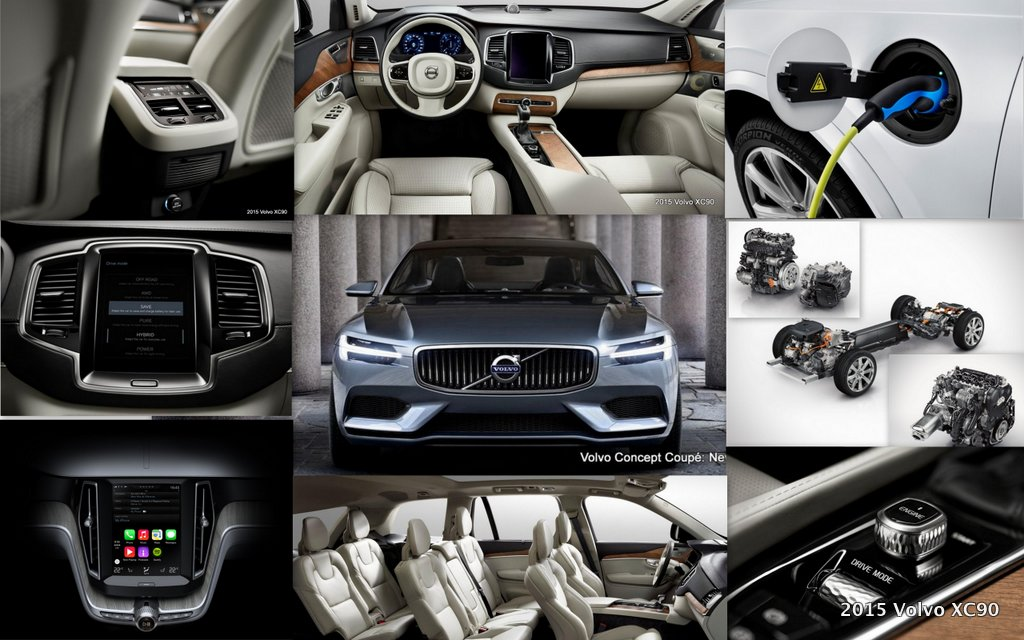 2015 Volvo XC90 Twin Engine Technology gives 400 hp, 640 Nm