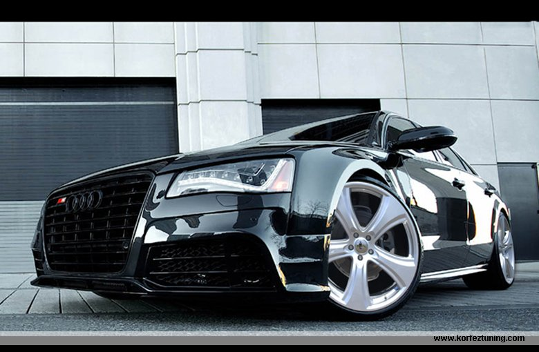 audi a8 modifiyeli