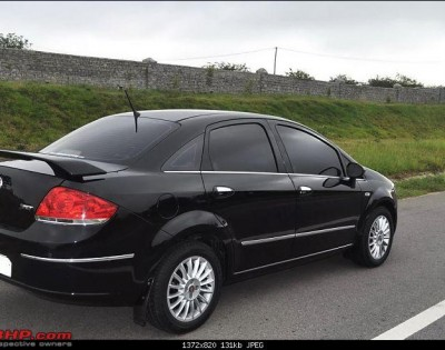 fiat linea with sunroof
