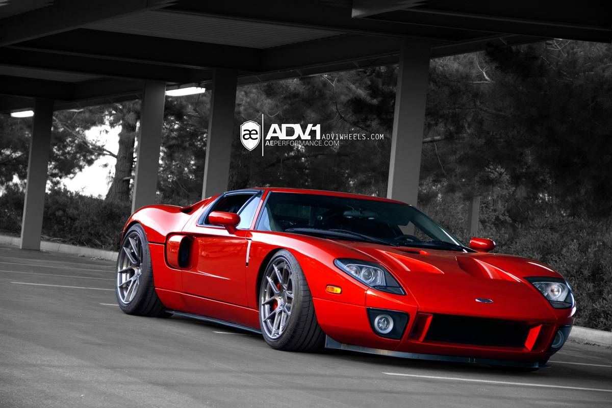 ford gt drag