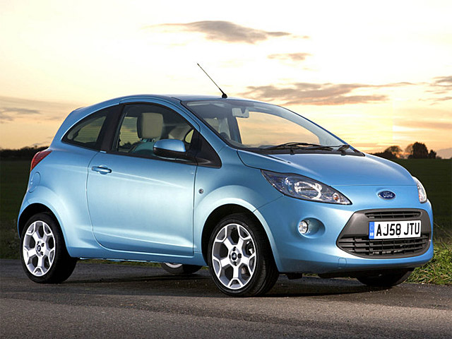 Ford KA 2011 Coupe.