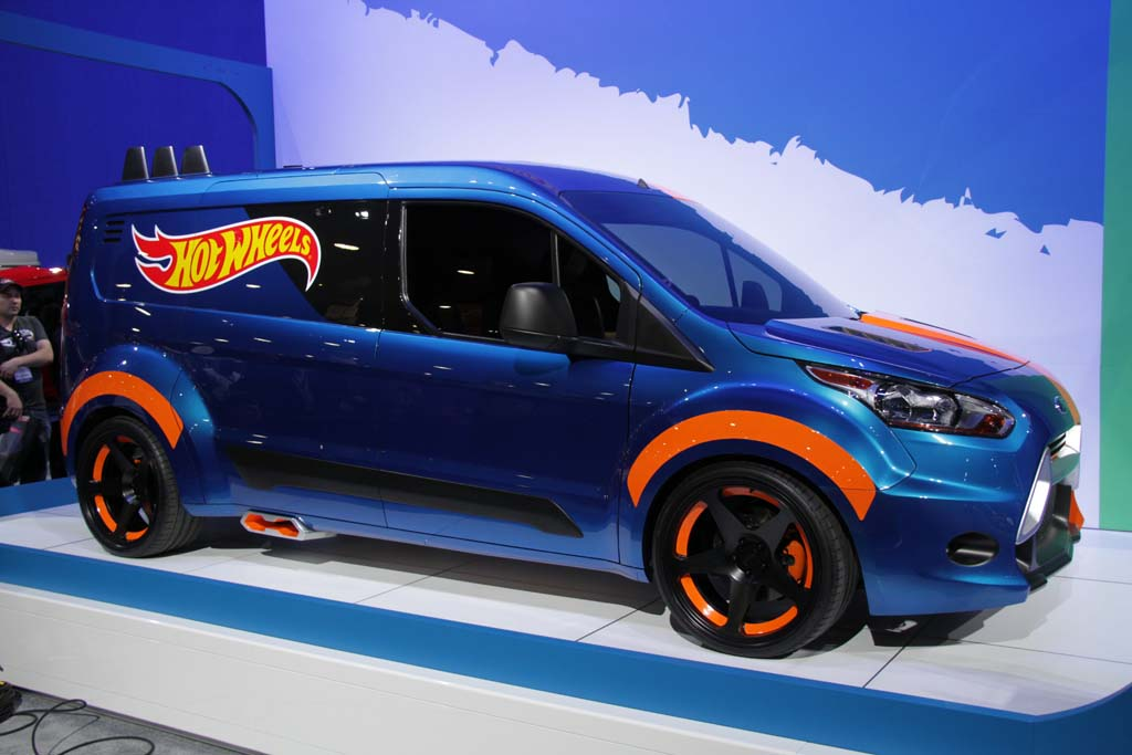 Ford Rolls Out Some Hot Wheels at SEMA - A Hot Wheels Transit