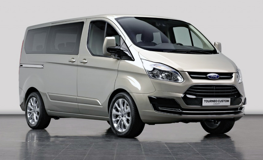 Ford Tourneo Custom technical details, history, photos on Better
