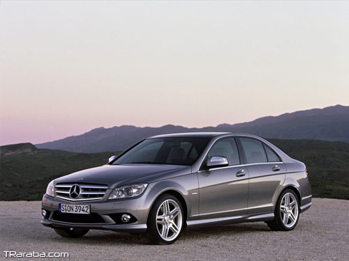 mercedes c serisi bi xenon far