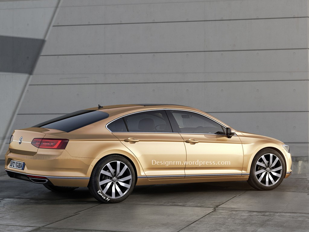 New 2015 Volkswagen Passat Sedan and New Volksagen Passat CC