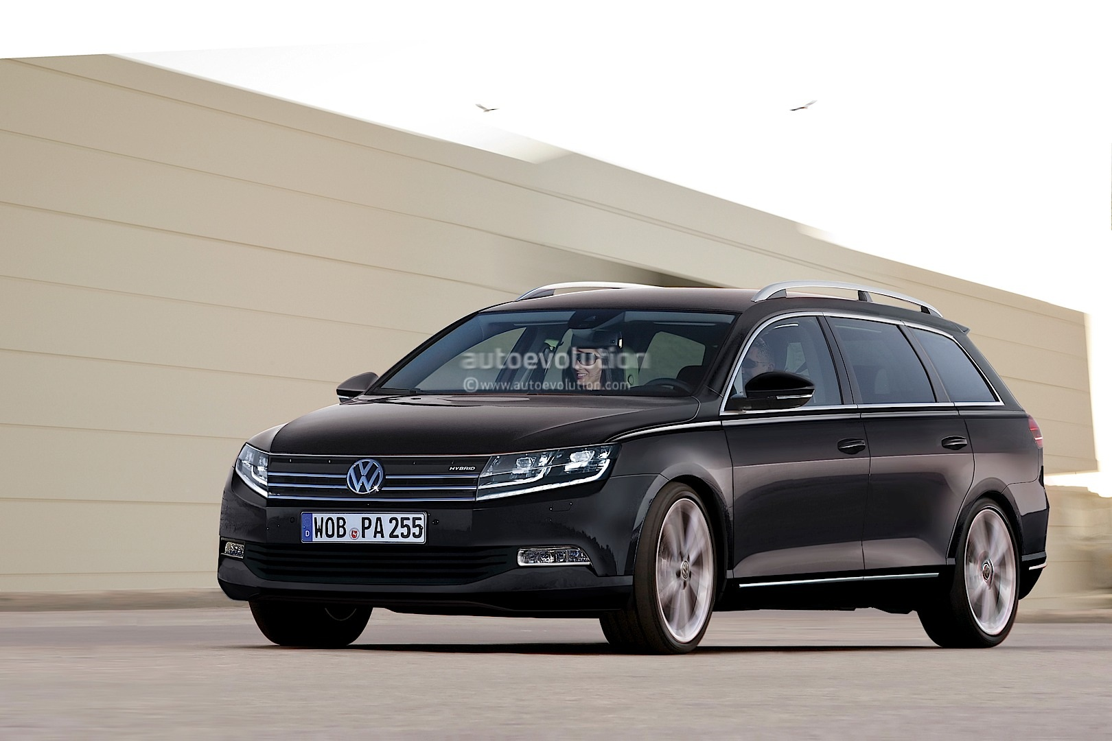 Photo Gallery of the 2015 Volkswagen Passat Concept | Car Pictures