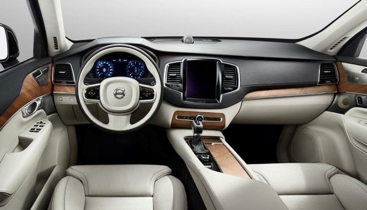 Potent 2015 Volvo XC90 'T8' plug-in hybrid revealed