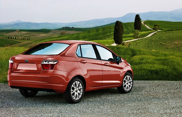 The Ford Ka, a small three door hatchback sold in Europe and South