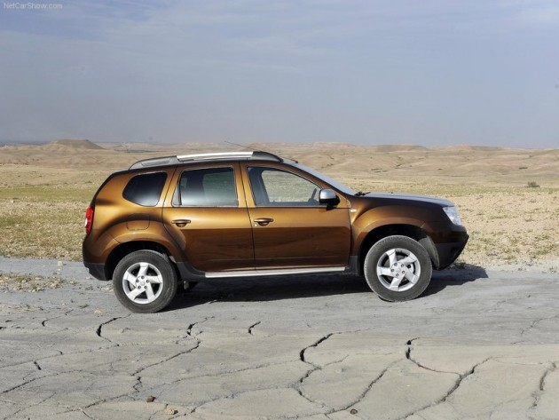 2010 - Dacia Duster Tests.