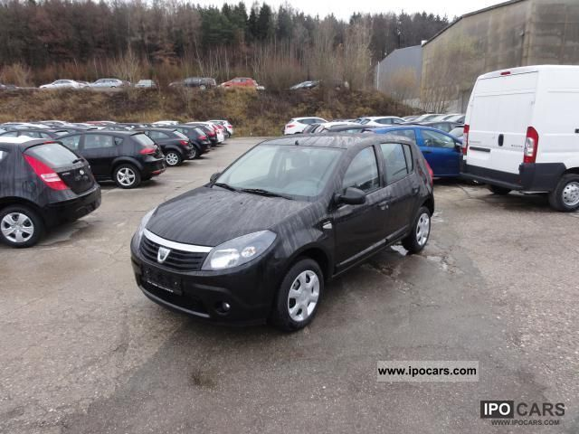 2010 Dacia Sandero 1.2 16V BlackLine 55KW/75PS EURos 5 E. .. - Car