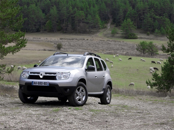 2011 Dacia Duster information.