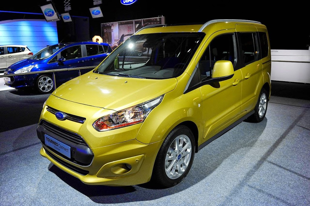 2013 Ford Tourneo Connect 1.0 Ecoboost, 1.6 TDCi Teknik Verileri