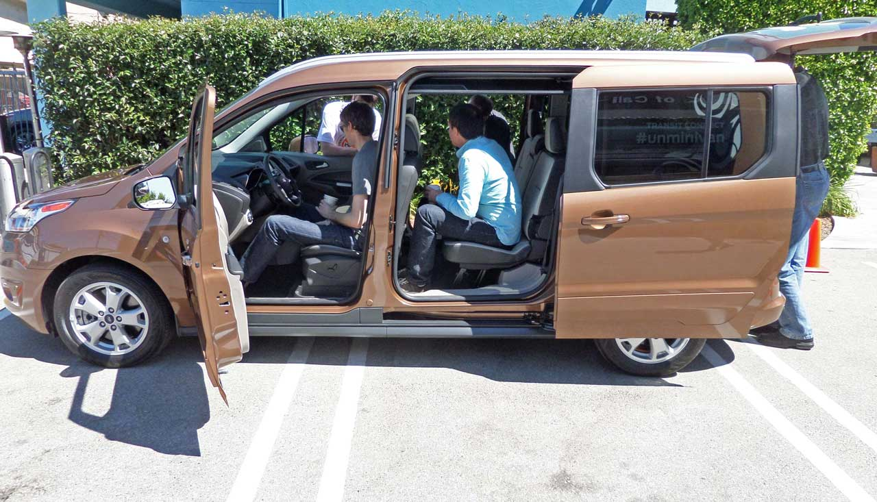 2014 Ford Transit Connect Wagon : Fresh Design With Plush Accents