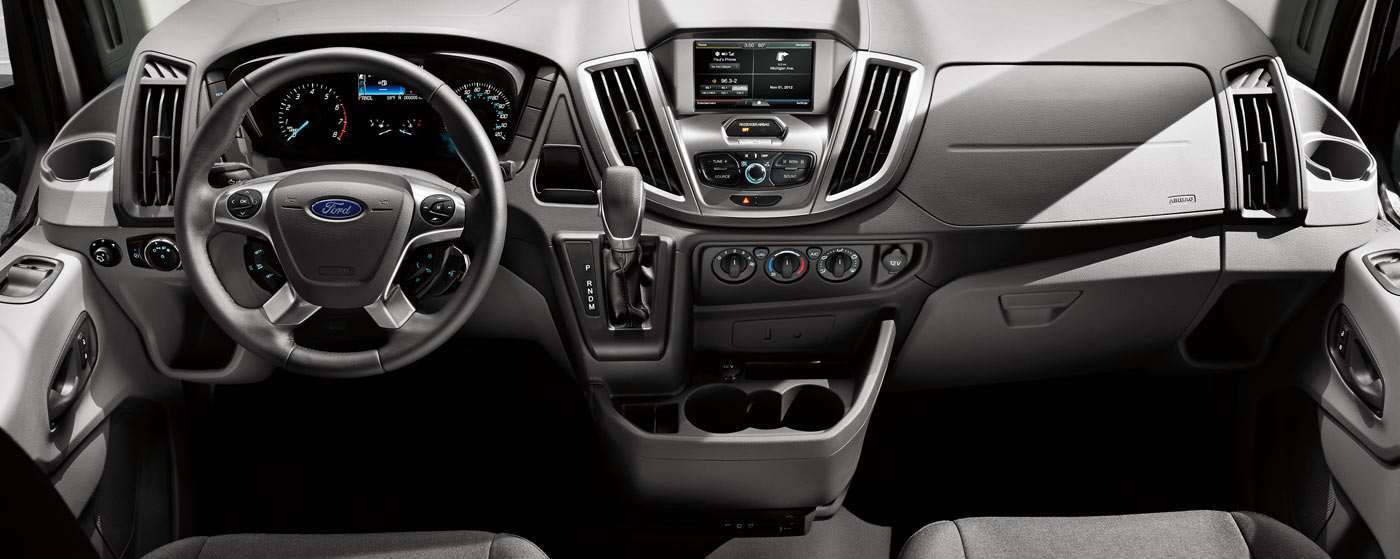 2015 Ford Transit | America's Full-Size Van Leader | Ford.