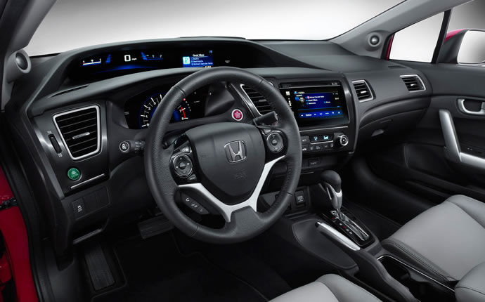 2015 Honda Civic Coupe - Interior Photo Gallery - Official Honda