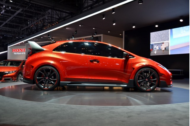 2015 Honda Civic Type R Concept Revealed In Geneva: Live Photos