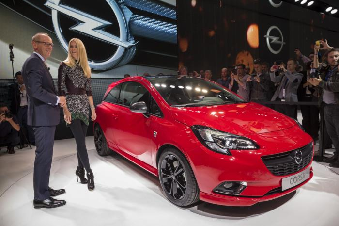 2015 Opel / Vauxhall Corsa unveiled in Paris