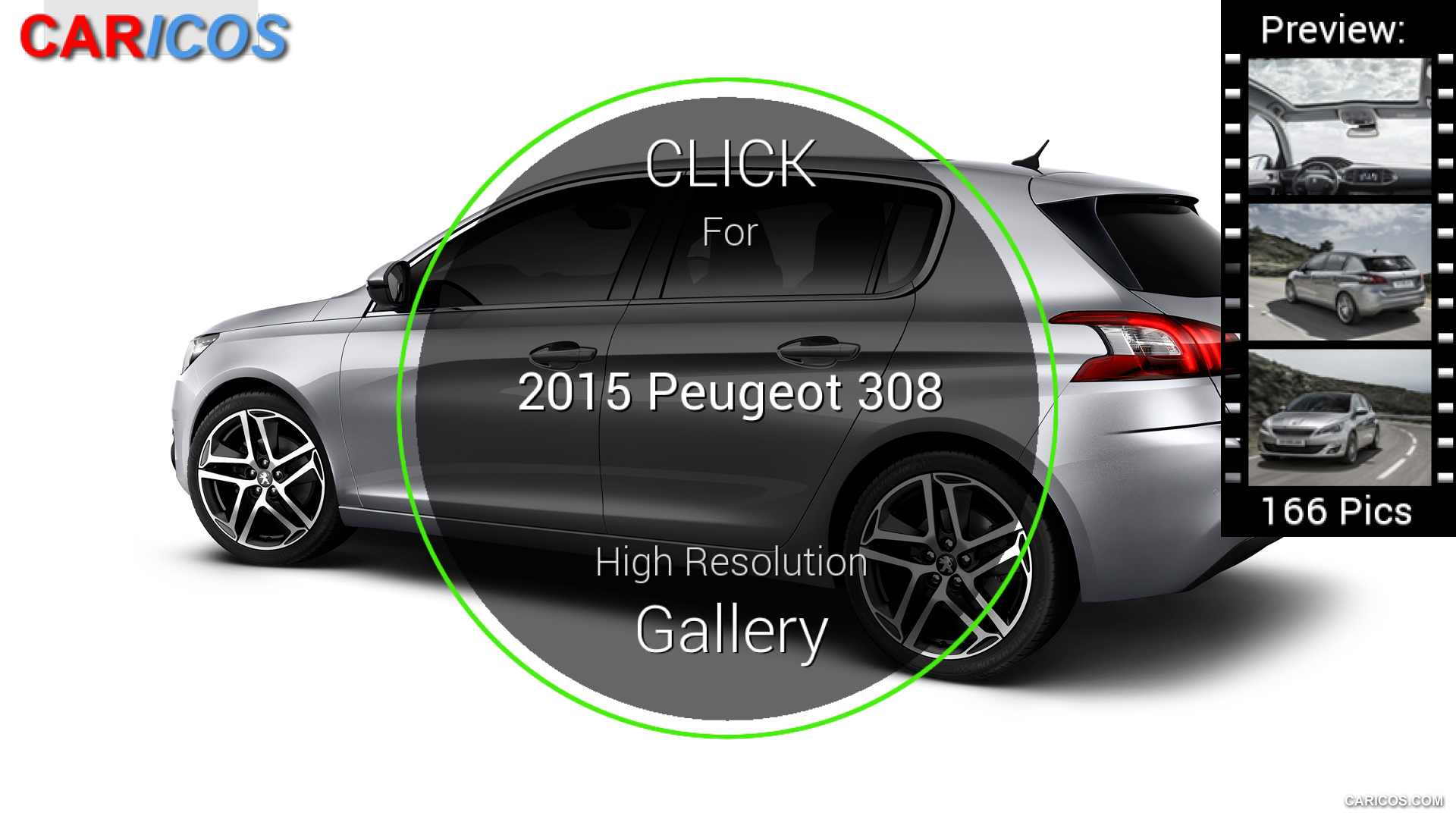 2015 Peugeot 308 - Side | HD Wallpaper #138 | 1920x1080