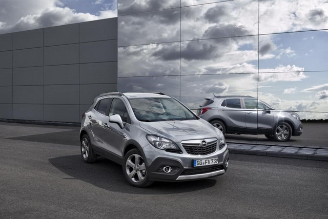 2015 The new Opel Mokka SUV with the new engine has exceeded all