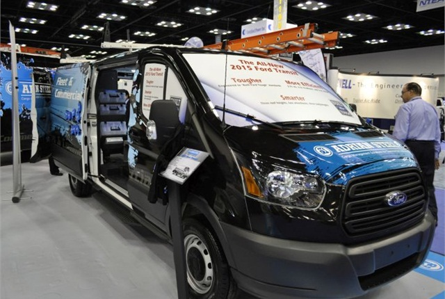 Adrian Steel Shows Ford Transit Upfit Products - News - Automotive