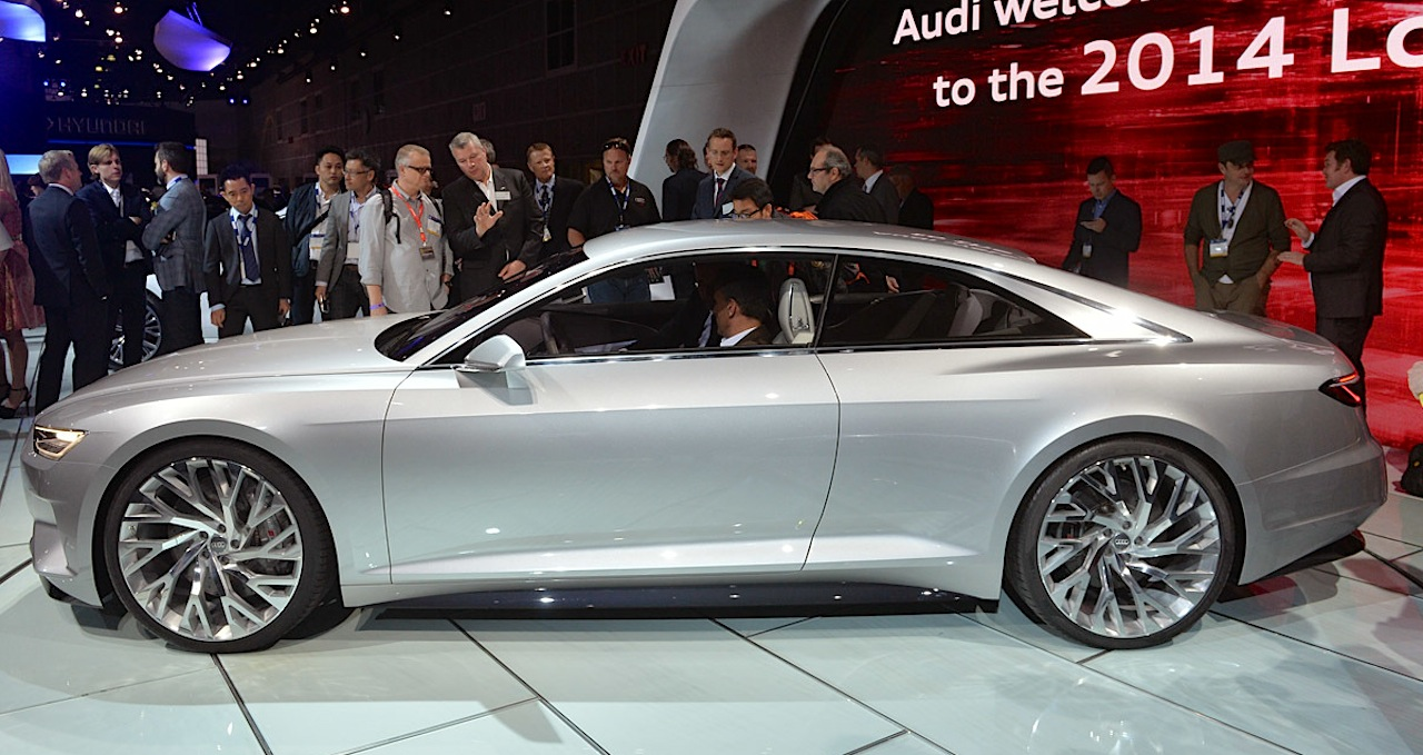 Are Audi, Infiniti, and Maserati Design Concepts Converging? [LA