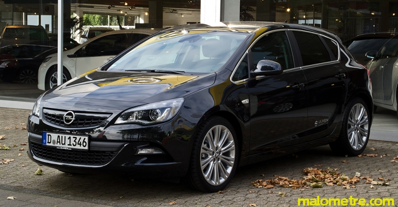 Astra HB 1.4 140 HP S&S Enjoy Active - Malometre