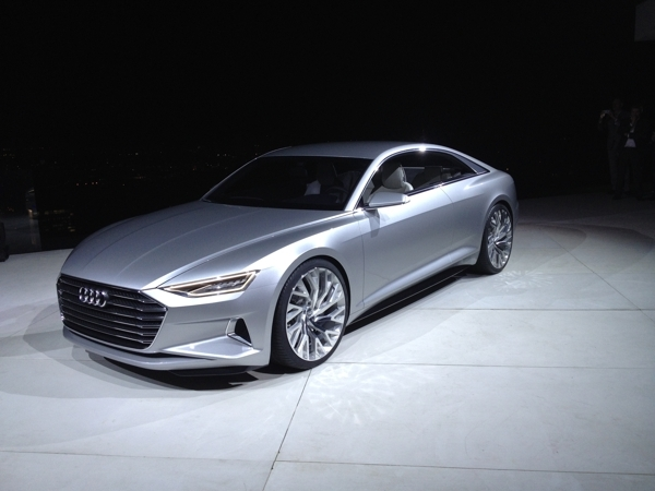 Audi Prologue Concept Coupe Pounces on LA - Kelley Blue Book