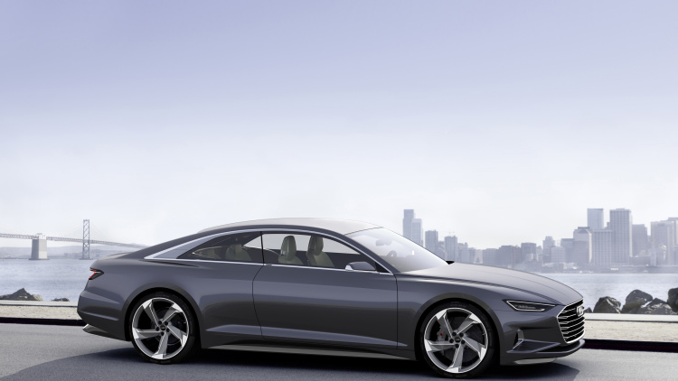 Audi Prologue concept drives itself to CES with updated powertrain