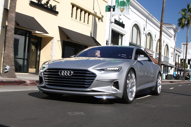 Audi Prologue concept first drive review