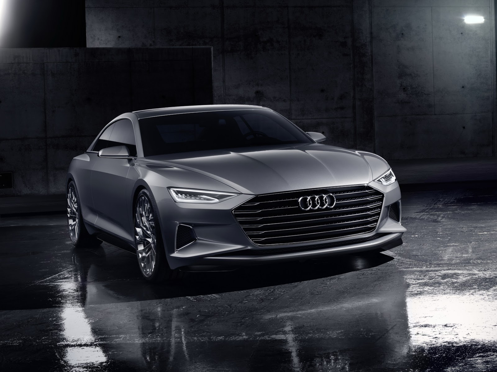 Audi Prologue Concept Is an S-Class Coupe Rival in the Making