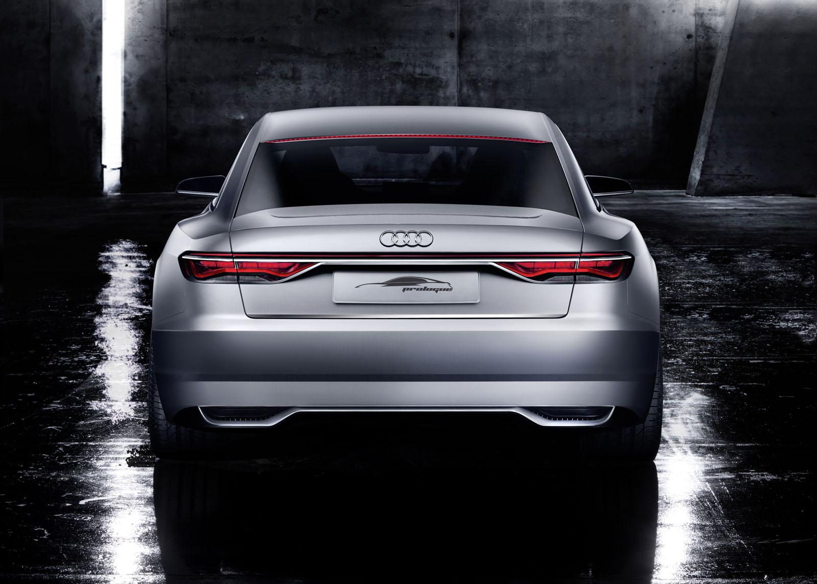 Audi Prologue Concept rear