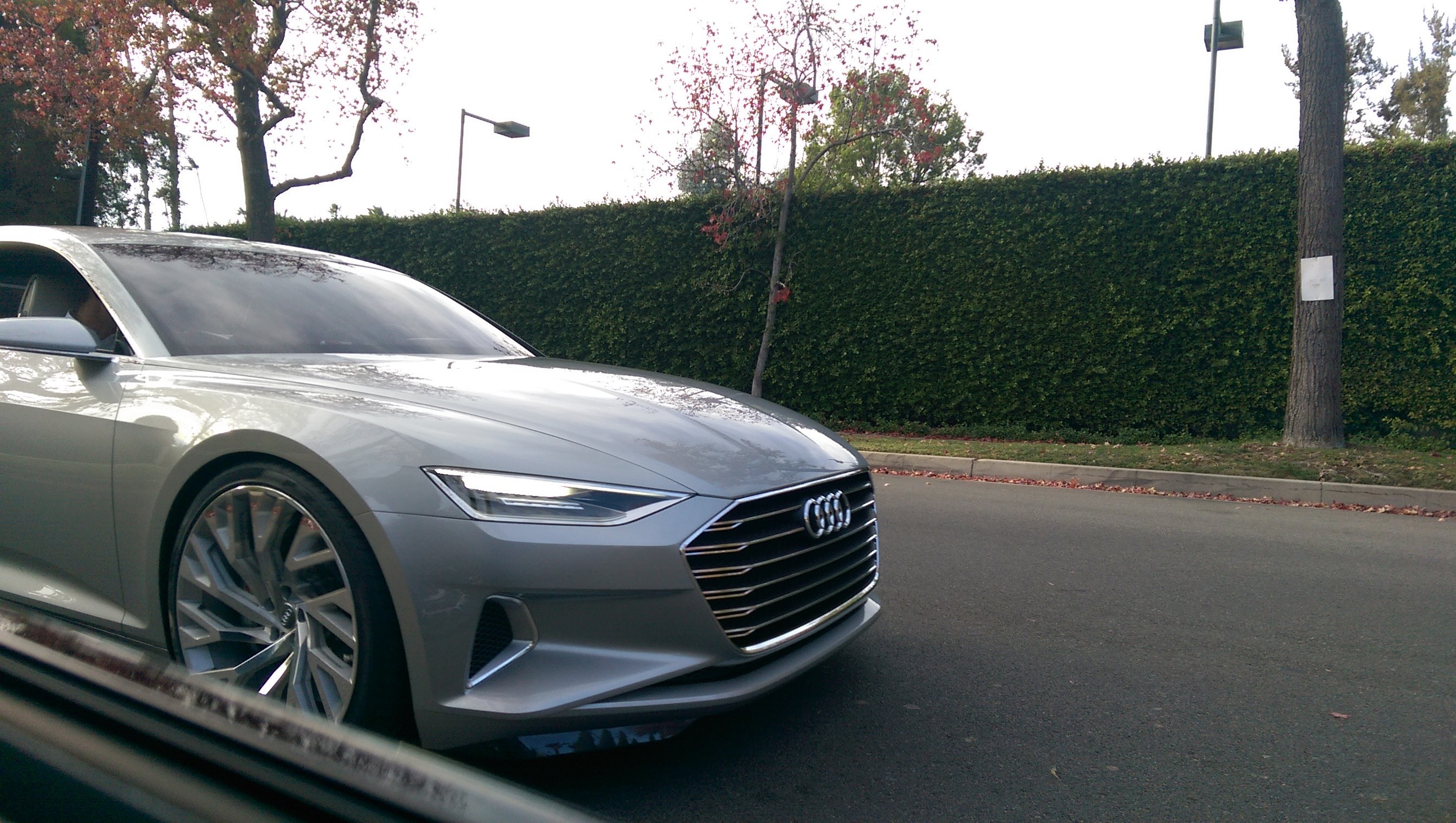 Audi Prologue Concept Spotted Driving in LA - Video, Photo Gallery